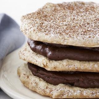 Mixed Nut Chocolate Torte.