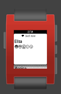 Pebble Emoji Support
