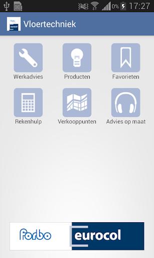 eurocol vloertechniek app