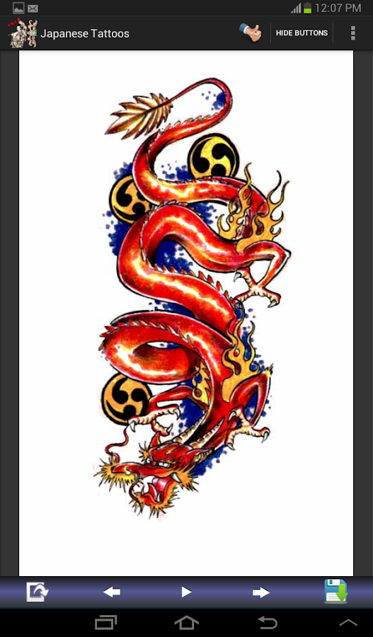 Japanese Designs japanese tattoo designs - android apps on google play