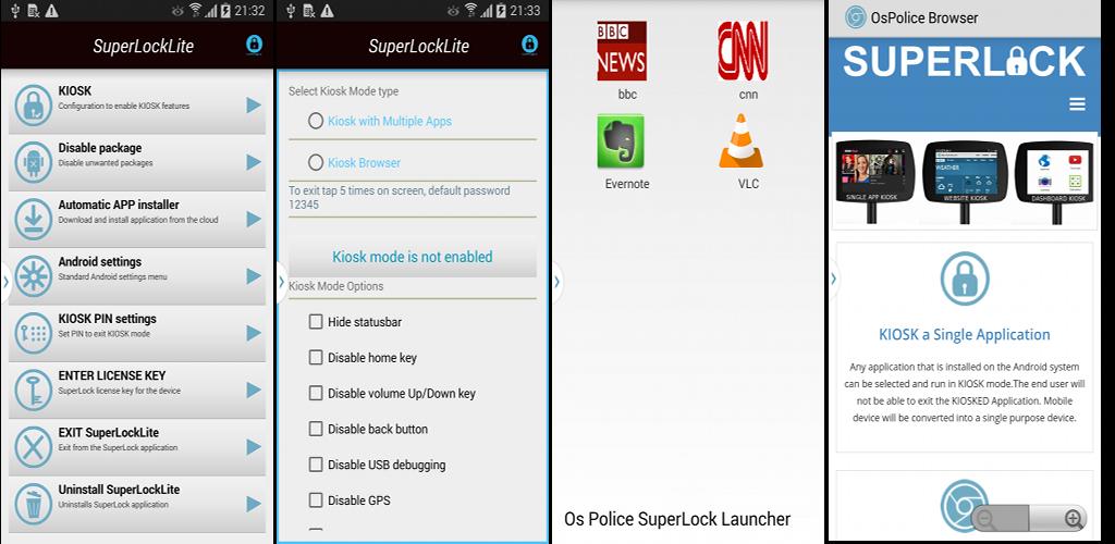 Download SuperLockLite Secure Kiosk APK latest version app for