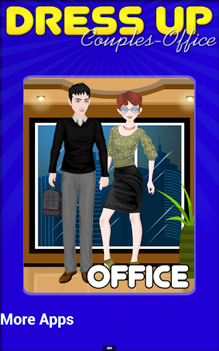 Office Couple Dressup Makeover