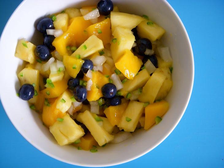 Spicy Mango Pineapple Salad (or Salsa) Recipe