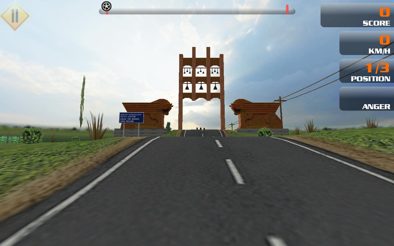 GraviTire 3D - screenshot