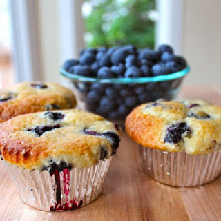 Buttermilk Blueberry Muffins.