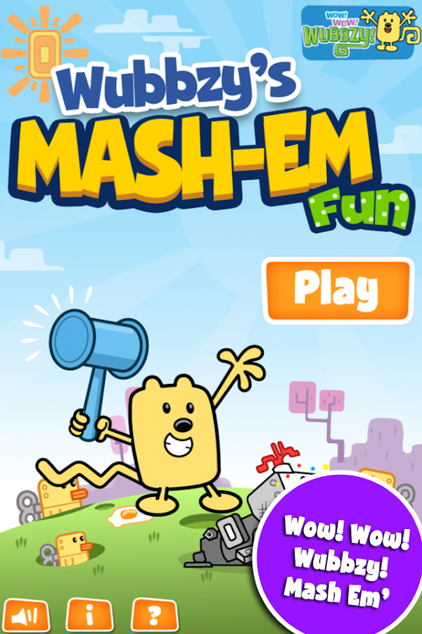 Wubbzy's Mash-Em Fun- screenshot