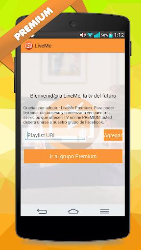 LiveMe - Premium Tv online