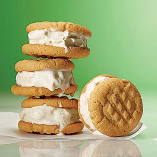 Peanut Butter-Banana Ice Cream Bites