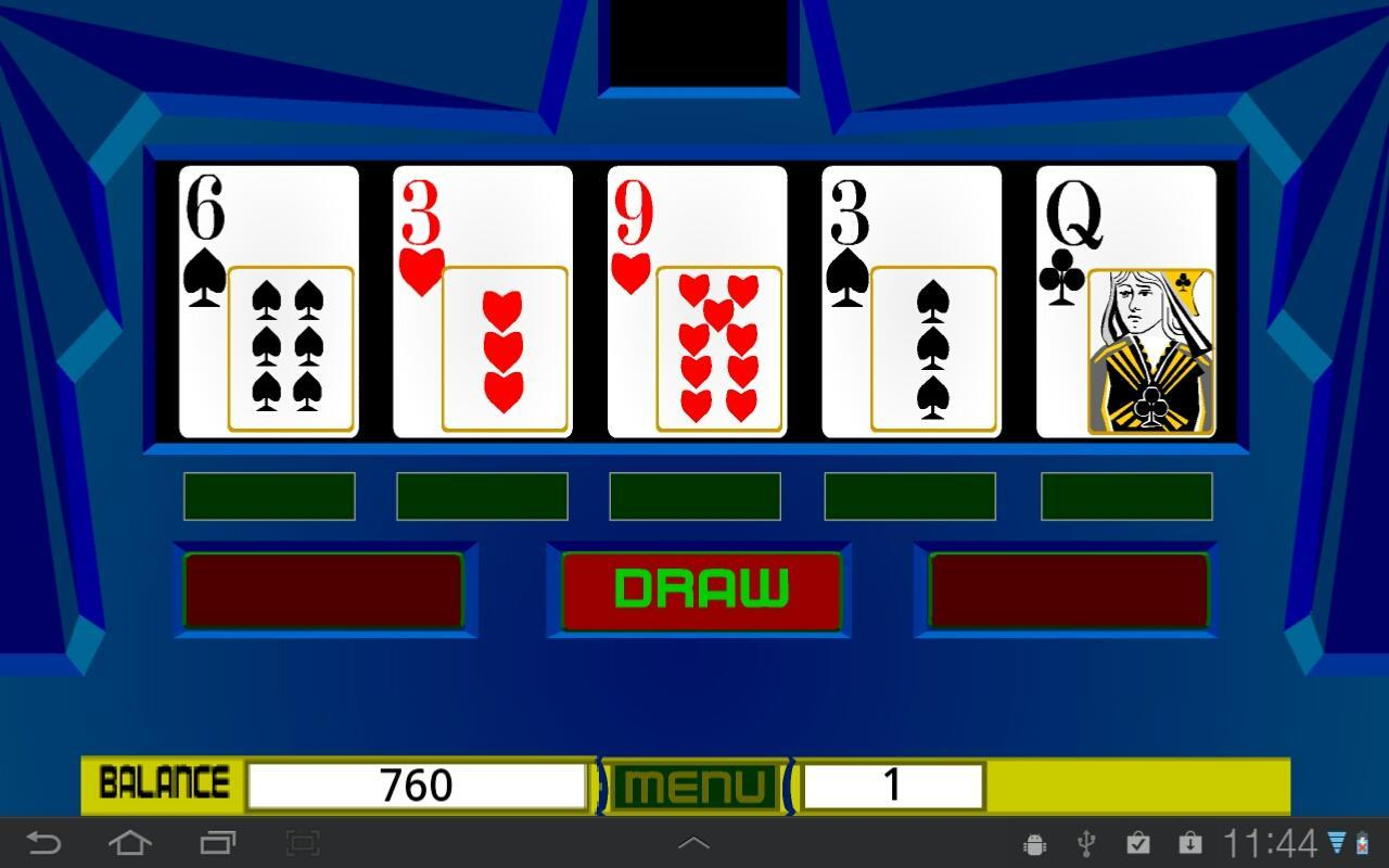 Dubai Poker Machine - screenshot