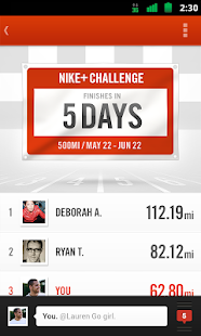 Nike+ Running Screenshot 2