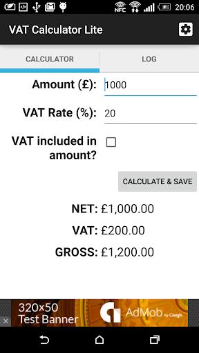 VAT Calculator Lite
