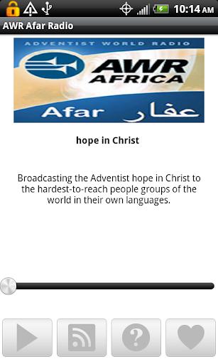 AWR Afar Radio