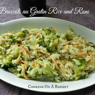 Broccoli au Gratin Rice and Roni