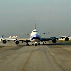 by Awang Kassim - Transportation Airplanes ( cargo plane )
