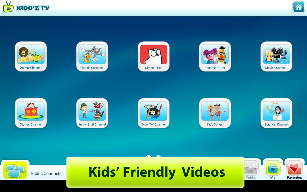 KIDO'Z Play Mode-Safe for Kids - screenshot