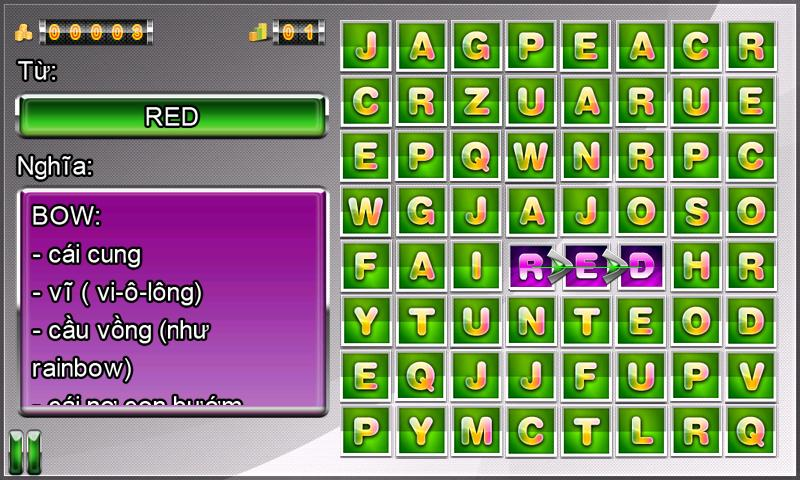 Words Puzzle (Đố Chữ)- screenshot