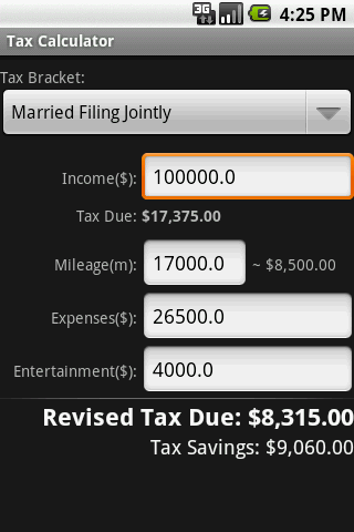 Tax Book US - screenshot