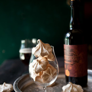 Beer Meringue Cookies.