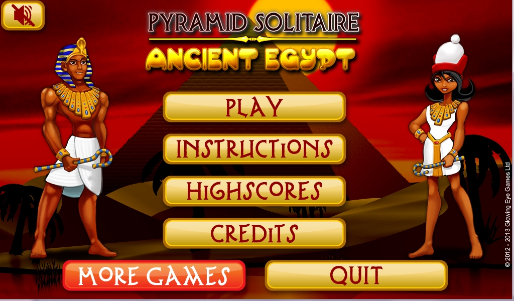 free online pyramid solitaire ancient egypt