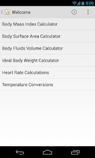Medical Calculator- screenshot thumbnail