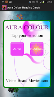 Aura Colour Reading Cards- screenshot thumbnail