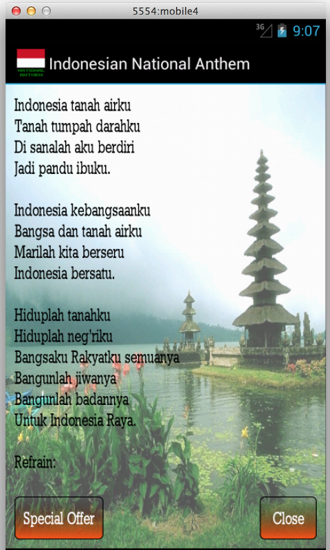 Indonesian Raya - Anthem - screenshot