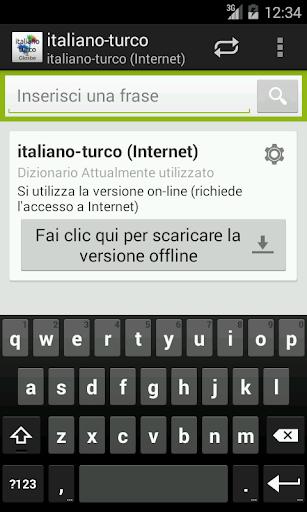 Italiano-Turco Dizionario
