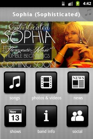 Sophia (Sophisticated) - screenshot
