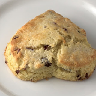Buttermilk Cranberry Scones.
