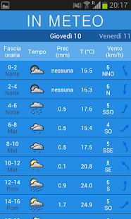InMeteo- miniatura screenshot