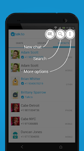 Talk.to Messenger - Fun SMS - screenshot thumbnail
