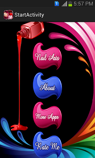Nail Art Design - Nail Saloon