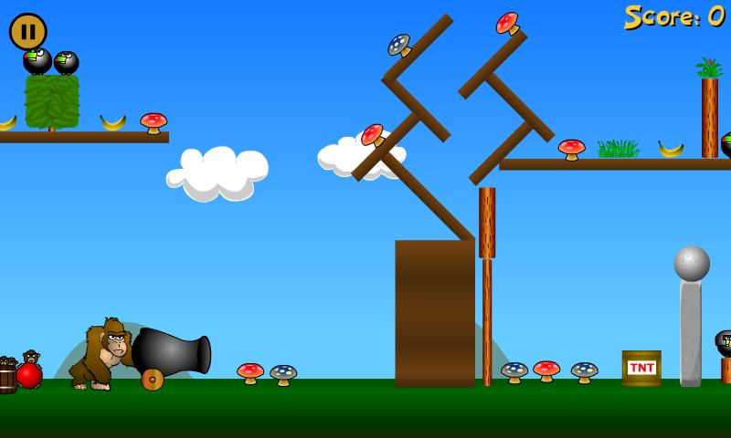 Angry Apes (Ad-Free)- screenshot