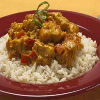 Peanut Chicken Curry.