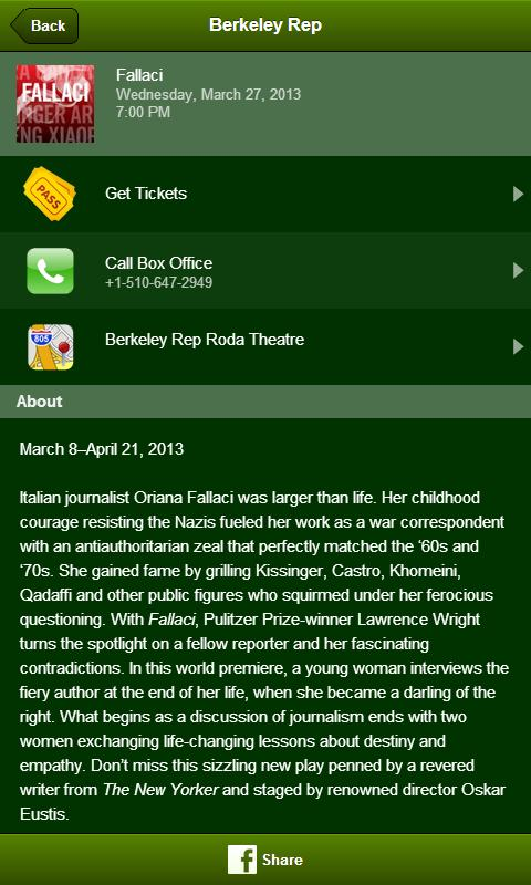 Berkeley Repertory Theatre- screenshot