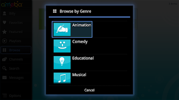 Screenshot of Ameba TV