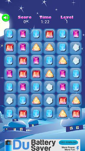Frozen Diamonds 3 Match Fight