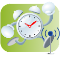 Alarm Clock,wake up guaranteed logo