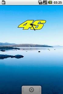 Valentino Rossi Clock Widget - screenshot thumbnail