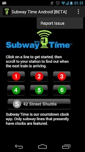 NYC Subway Times [MTA/BETA] - screenshot thumbnail