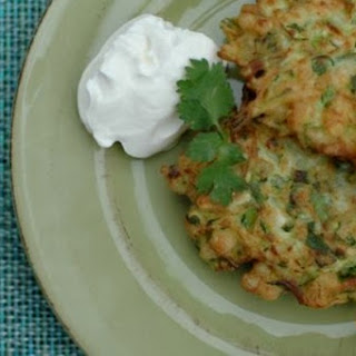 Zucchini and Corn Fritters Rule the World. For Reals