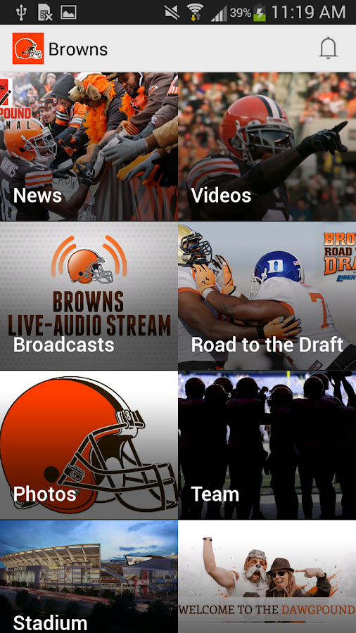 Cleveland Browns - screenshot
