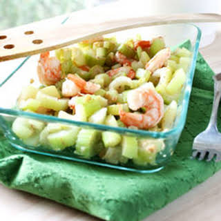 Shrimp and Celery Stir Fry.