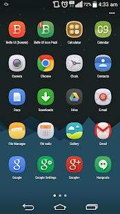 Belle UI Icon Pack - screenshot thumbnail