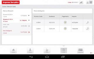 Screenshot of TIM Impresa Semplice HD