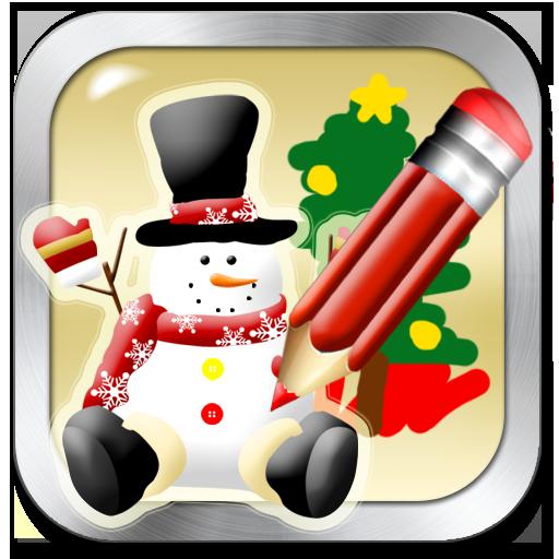 Snowmans聖誕節著色書 LOGO-APP點子