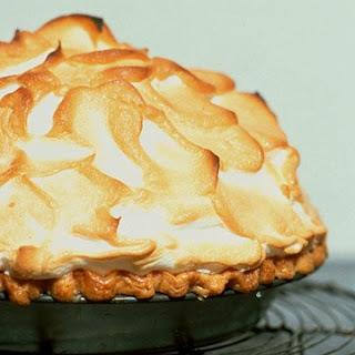 Mile-High Lemon Pie.