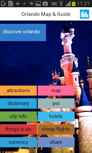 オーランドオフライン地図とガイド