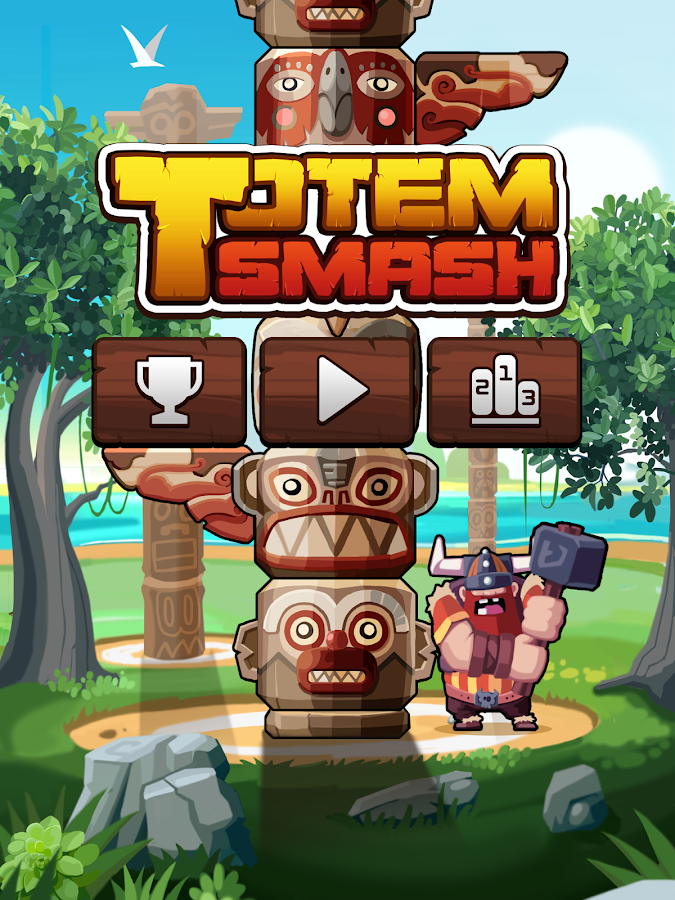 Totem Smash - screenshot