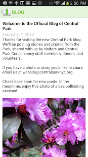 CENTRAL PARK CONSERVANCY- screenshot thumbnail
